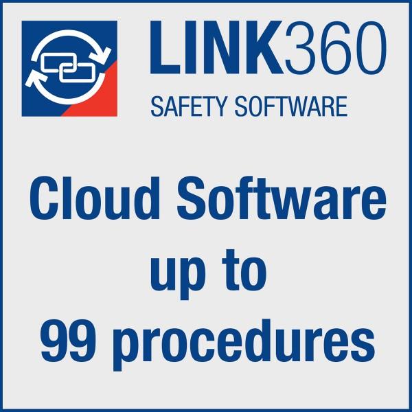 BRADY Brady LINK360 Cloud-Software für bis zu 99Verfahren LINK360 CLOUD 99 PROCEDURES 134478