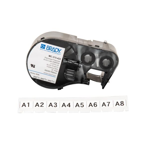 BRADY Etiketten für BMP41/BMP51/BMP53 Etikettendrucker MC-375-422 143239