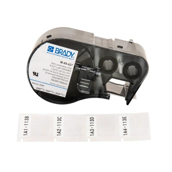 BRADY Etiketten für BMP41/BMP51/BMP53 Etikettendrucker M-49-427 131580