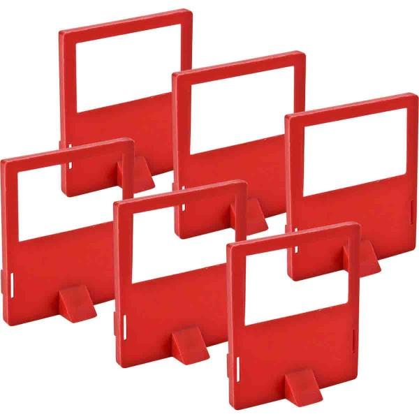 BRADY Zusätzliche Isolierschellen für 480/600 V-Absperrung LOCKOUT CLEAT 480/600 VOLT GENERAL USE 65