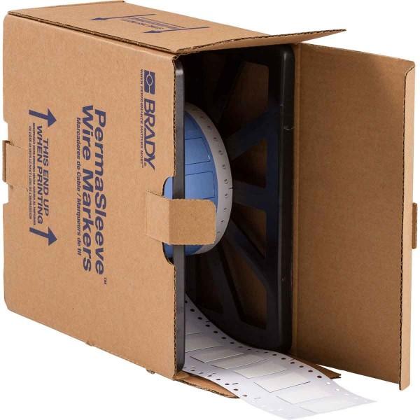 BRADY PermaSleeve Schrumpfschläuche zur Kabelkennzeichnung PS-500-150-WT-2 104680