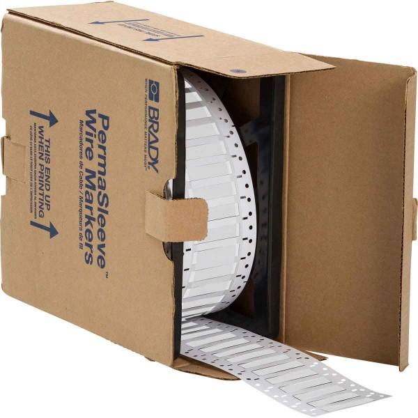 BRADY Für Thermotransferdrucker geeignete, halogenfreie PermaSleeve Schrumpf LSZH-250-2-WT 141232