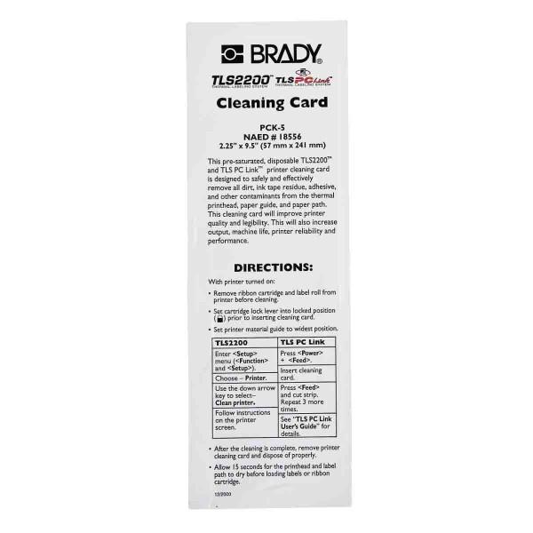 BRADY Drucker Reinigungsset PCK-5 18556