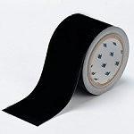 BRADY Bodenmarkierung - 76,2mm Schwarze Toughstripe Polyester TOUG2 BLK 104340