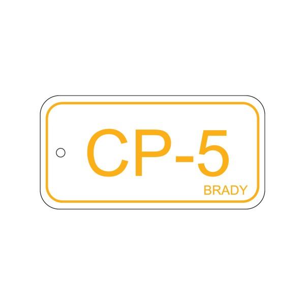 BRADY Anhänger für Energiequellen–Bedienfeld ENERGY TAG-CP-5-75X38MM-PP/25 138733