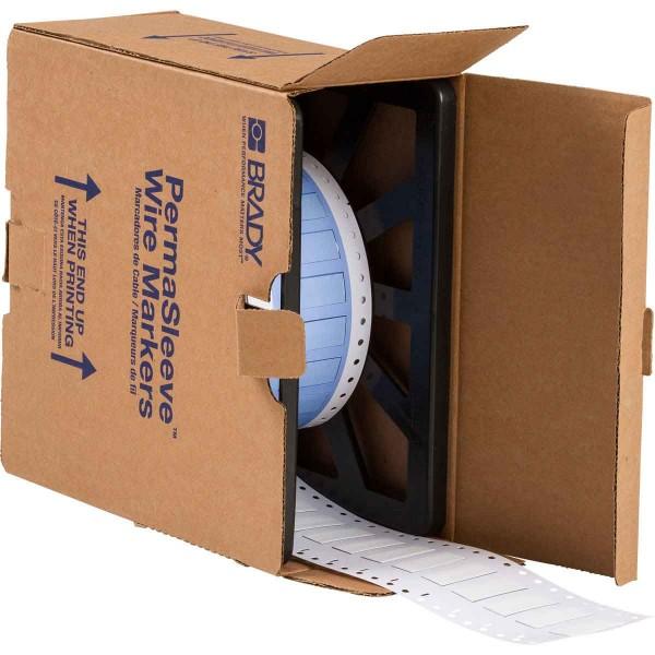 BRADY PermaSleeve Schrumpfschläuche zur Kabelkennzeichnung PS-375-150-WT-2 104679