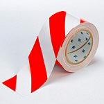 BRADY Bodenmarkierung - 76,2mm Rote und Weisse Toughstripe Polyester TOUG2 RDWT 104348