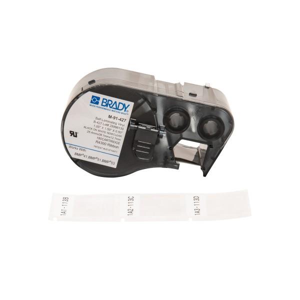 BRADY Etiketten für BMP41/BMP51/BMP53 Etikettendrucker M-91-427 131570