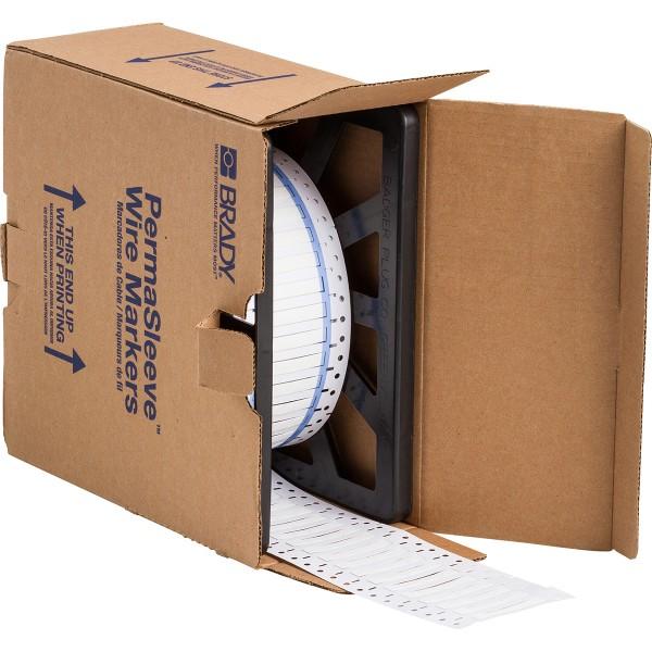 BRADY PermaSleeve Schrumpfschläuche zur Kabelkennzeichnung 3PS-187-2-WT-4 104714