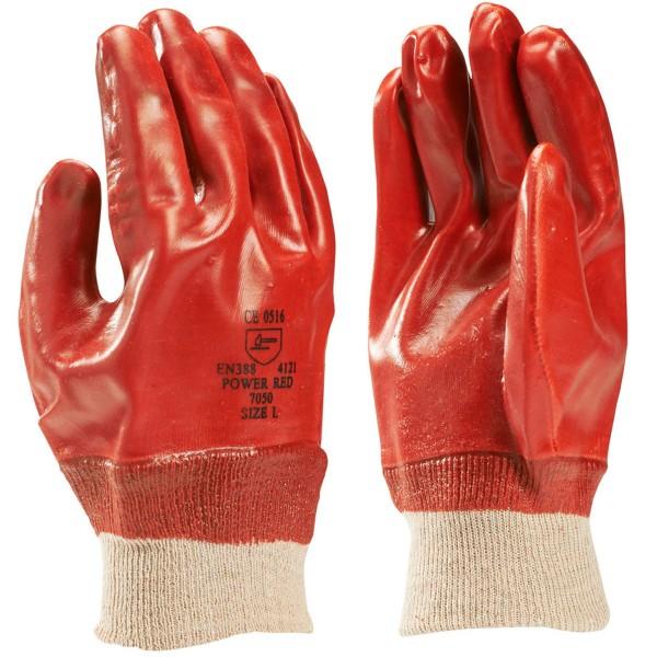 BRADY PVC-beschichtete Handschuhe, mit gerippter Manschette SPK-HANDSCH 198785
