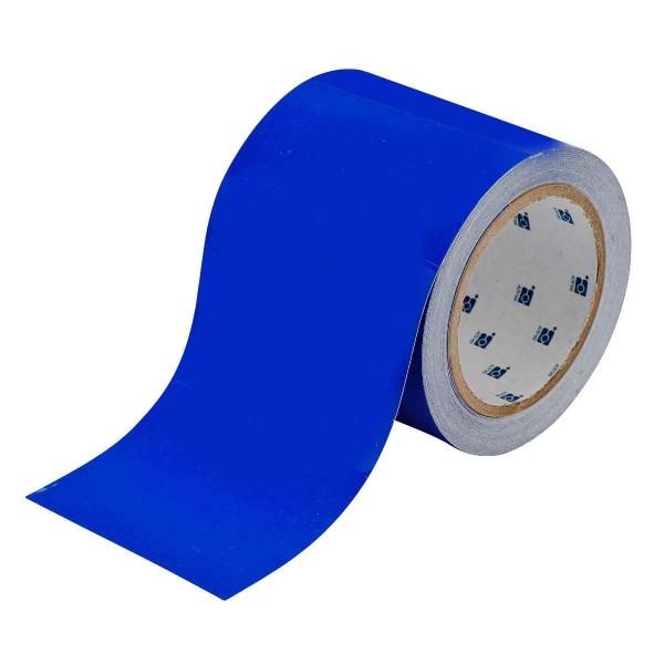 BRADY Bodenmarkierung - 101,6mm Blaue Toughstripe Polyester TOUG3 BLU 104374