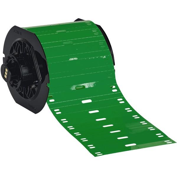BRADY Polyester-Kabelanhänger für die Drucker BBP33/i3300 B33-75X10-7598-GN 197548