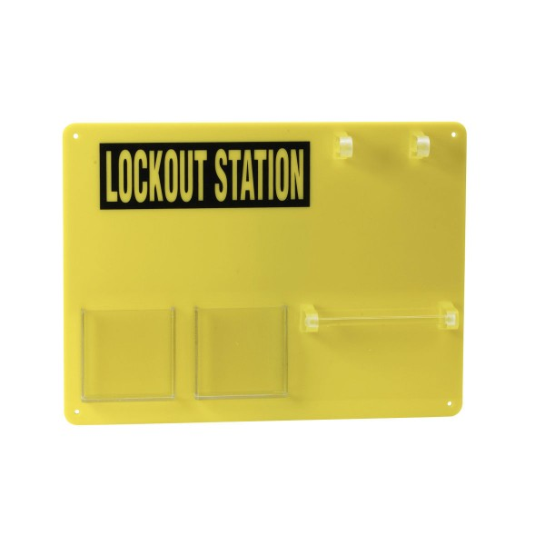 BRADY Lockout-Tafel - 5 Personen LOCKOUT STATION 5-LOCK BOARD 50989