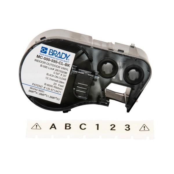 BRADY Band für BMP41/BMP51/BMP53 Etikettendrucker MC-500-595-CL-BK 143363