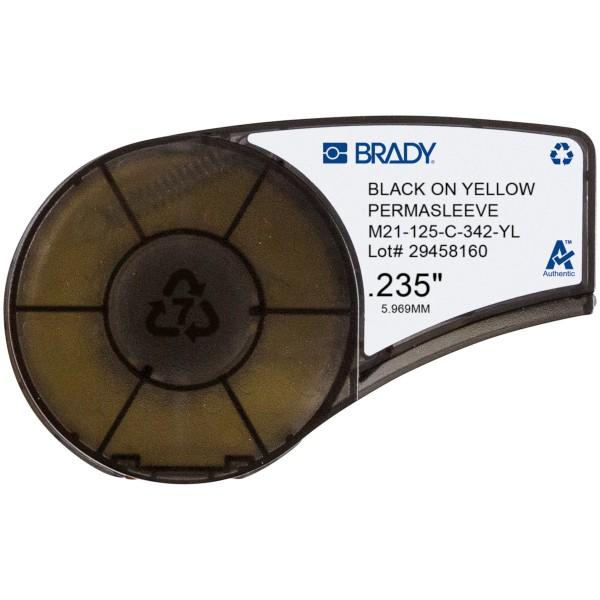 BRADY Bänder für den tragbaren Drucker BMP21-PLUS M21-125-C-342-YL 139750
