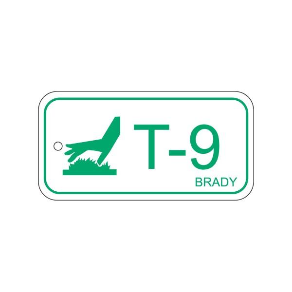 BRADY Anhänger für Energiequellen–Hohe Temperaturen ENERGY TAG-T-9-75X38MM-PP/25 138785