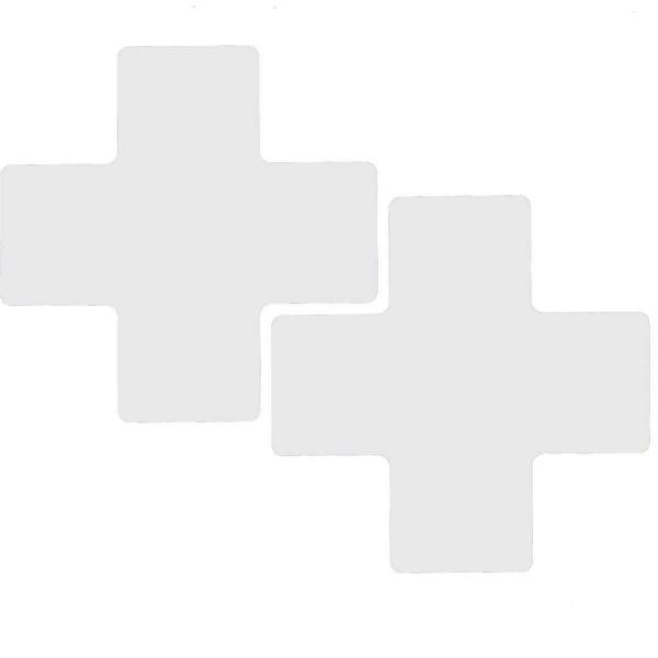 BRADY Eckemarkierung - Kreuze - 76,2mm x 203,2mm Weisse Toughstripe Floor Ma WHITE B-514 FLOOR CROSS