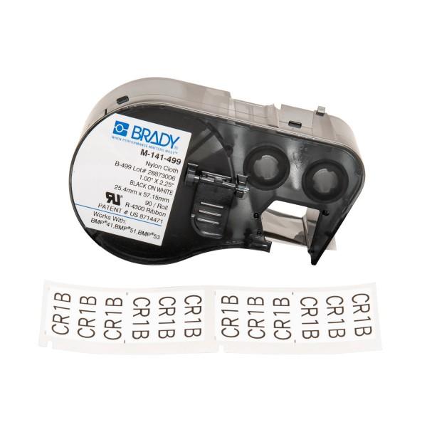 BRADY Etiketten für BMP41/BMP51/BMP53 Etikettendrucker M-141-499 131588