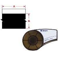 BRADY Vinylband für BMP21-PLUS, BMP21-LAB, BMP21, IDPAL, LABPAL M21-750-595-BK 139743