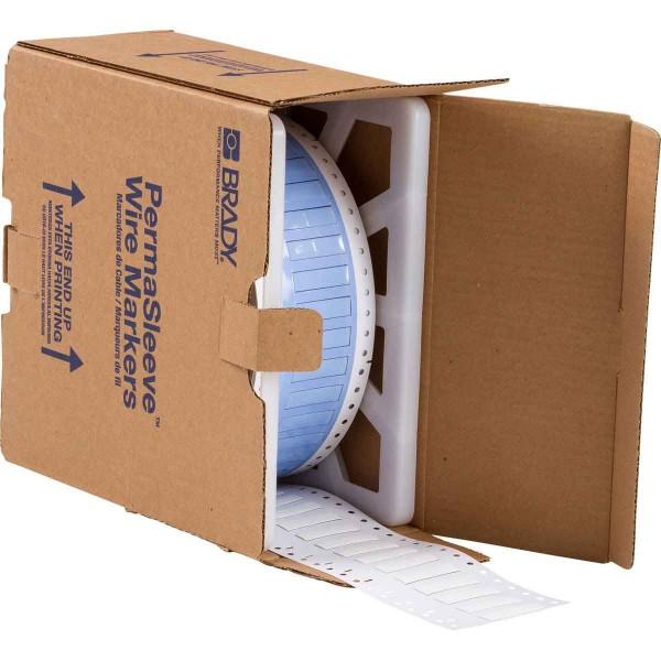 BRADY PermaSleeve Schrumpfschläuche zur Kabelkennzeichnung PS-250-150-WT-2 104678