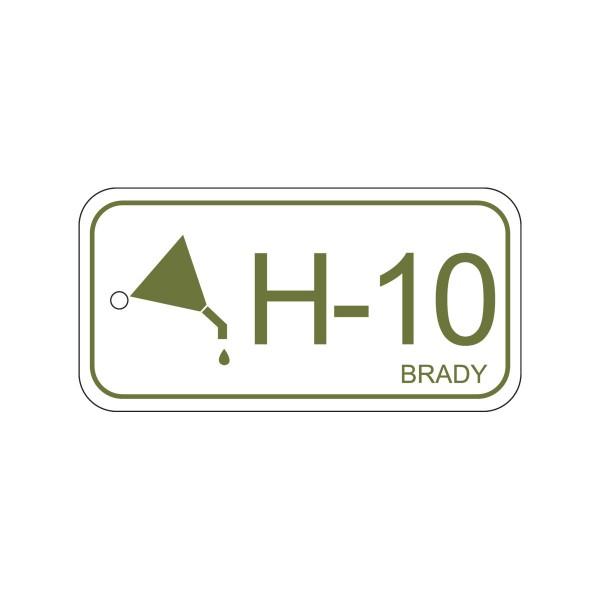 BRADY Anhänger für Energiequellen–Hydraulik ENERGY TAG-H-10-75X38MM-PP/25 138750