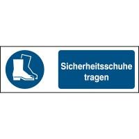 BRADY ISO 7010 Zeichen - Sicherheitsschuhe tragen STDE M008-450X150-PP-CRD/1 819107