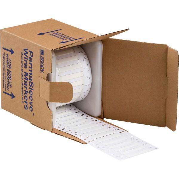 BRADY PermaSleeve Schrumpfschläuche zur Kabelkennzeichnung PS-187-150-WT-3 104682