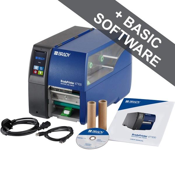 BRADY BradyPrinteri7100, 600dpi–UK, mit Abziehfunktion I7100-600-P-UK 149065
