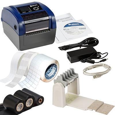 BRADY BBP12Etikettendrucker, 300dpi–Set für die Datenkommunikation–UK BBP12-DATA KIT-UK 198589