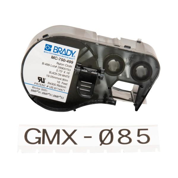 BRADY Etiketten für BMP41/BMP51/BMP53 Etikettendrucker MC-750-499 143360