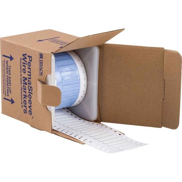 BRADY PermaSleeve Schrumpfschläuche zur Kabelkennzeichnung PS-125-150-WT-S-3 104730