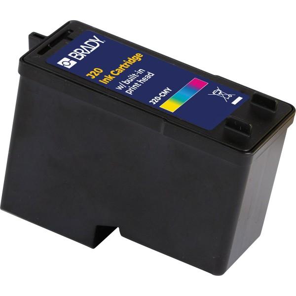 BRADY Tintenpatrone mit CMY-Pigmentfarbe für den J2000Drucker J20-CMY 150154
