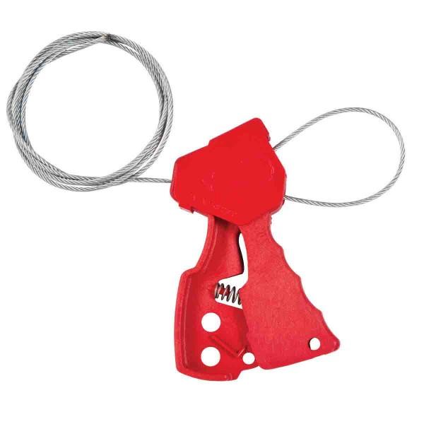 BRADY Original-Kabelverriegelung ASSY, CABLE L/O, RED 6' 65318