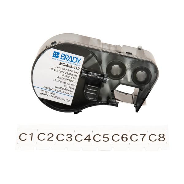 BRADY Anhänger für BMP41/BMP51/BMP53 Etikettendrucker MC-625-412 143237
