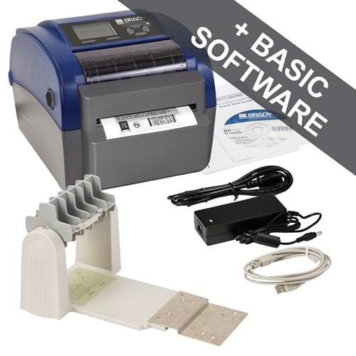 195968 - BBP12 Etikettendrucker-300 dpi-US-mit Schneider und Rollenhalter