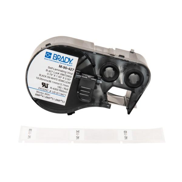 BRADY Etiketten für BMP41/BMP51/BMP53 Etikettendrucker M-90-427 131572