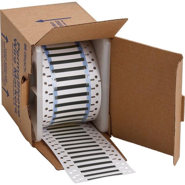 BRADY PermaSleeve Schrumpfschläuche zur Kabelkennzeichnung 3PS-125-2-BK-S-2 104724