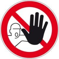 222923 - Verbotsschilder - Zutritt für Unbefugte verboten