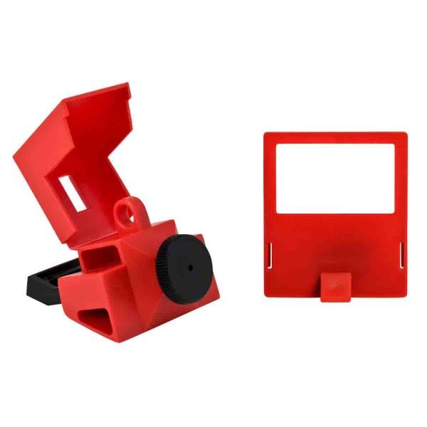 BRADY Verriegelung für Schutzschalter ohne Loch, 480/600 V NO HOLE CIRCUIT BREAKER L/O 480/600 VOLT
