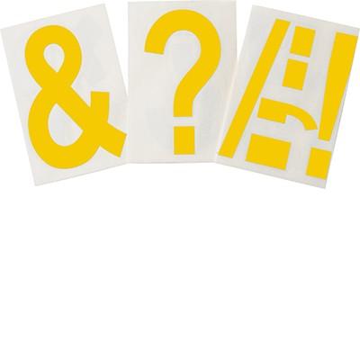 121912 - Vorgestanzte ToughStripe Interpunktionszeichen