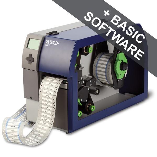 BRADY BBP72 Drucker zum doppelseitigen Bedrucken von Schrumpfschläuchen BBP72-34L+COMMISS. 361110
