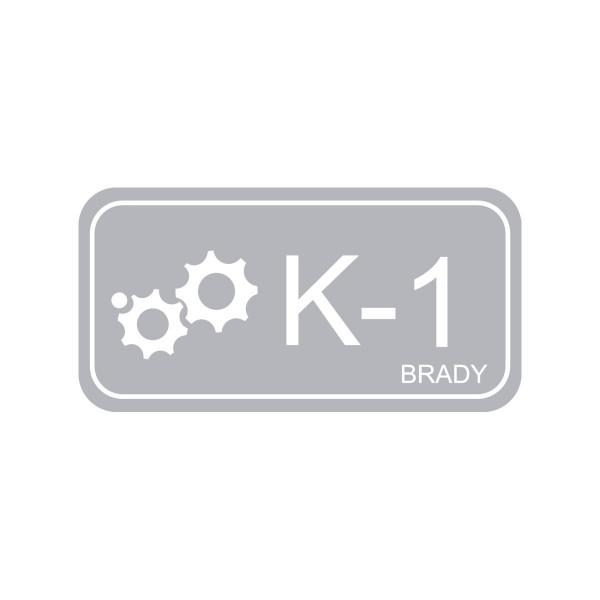 BRADY Anhänger für Energiequellen–Kinetik ENERGY TAG-K-1-75X38MM-PP/25 138431