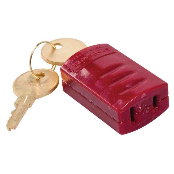 BRADY Stopower-Absperrung für Steckerverbindungen STOPOWER (PLUG HUGGER) 65673