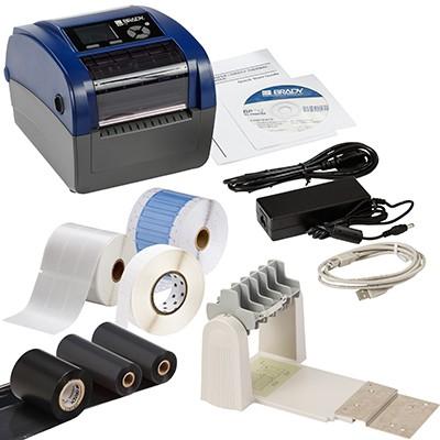 198593 - BBP12Etikettendrucker, 300dpi–Set für die Anwendung im elektrischen Bereich–US