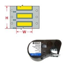 143230 - PermaSleeve Schrumpfschläuche zur Kabelkennzeichnung für BMP41/BMP51/BMP53 Etikettendrucker