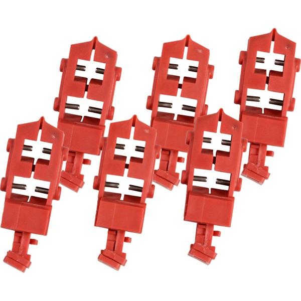 BRADY TagLock Schutzschalter-Verriegelung: Snap-On–50/Paket TAGLOCK SNAP-ON CIRCUIT BREAKER LO BLK
