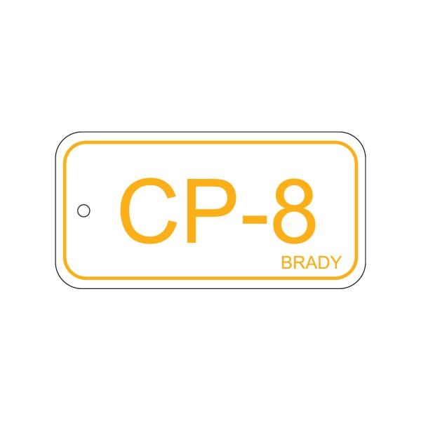 BRADY Anhänger für Energiequellen–Bedienfeld ENERGY TAG-CP-8-75X38MM-PP/25 138736