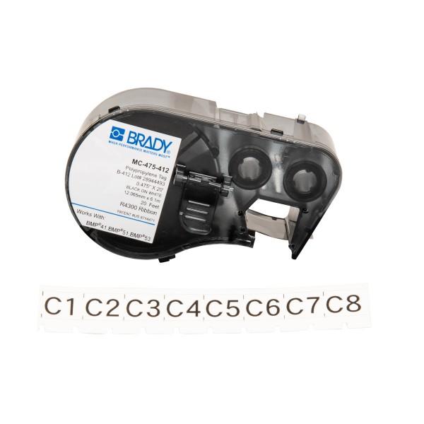 BRADY Anhänger für BMP41/BMP51/BMP53 Etikettendrucker MC-475-412 143236