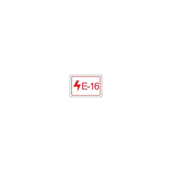 BRADY Etikett für Energiequellen–Elektrik ENERGY TAG-E-16-19X13MM-SA/100 138814