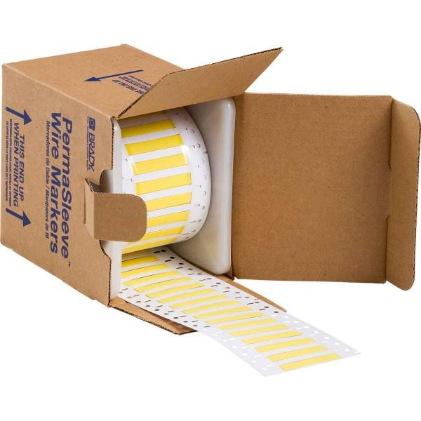 BRADY PermaSleeve Schrumpfschläuche zur Kabelkennzeichnung 3PS-187-2-YL-2 104699